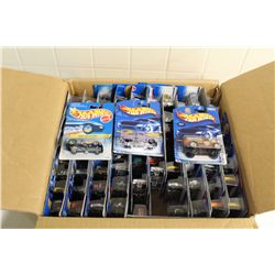 HOT WHEELS FACTORY BOX CONTAINING MINT ON BOARD 80 CAR MIX