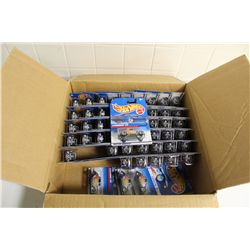 HOT WHEELS FACTORY BOX CONTAINING 52 MINT ON BOARD '34 FORDS