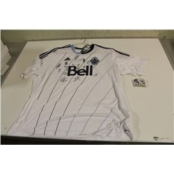 TEAMS SIGNED VANCOUVER WHITE CAPS JERSEY