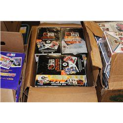 BOX CONTAINING PROSET SEALED HOCKEY CARDS