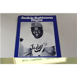 1977 JACKIE ROBINSON NIGHT JULY 21,1977 PROMO PIECE