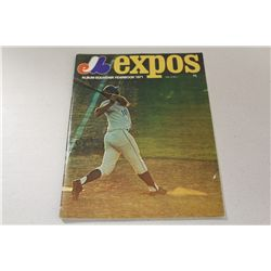 1971 MONTREAL EXPOS YEARBOOK