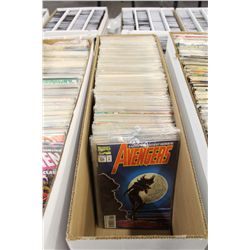 AVENGERS #105-379 (1973-94) NEAR COMPLETE 22 YEAR LONG RUN. OVER 200 ISSUES, MIXED GRADES