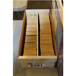 1600 COUNT BOX OF 1970'S-80'S NHL HOCKEY CARDS, MAINLY OPC