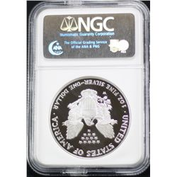 2006-W Silver Eagle NGC PF 70 Ultra Cameo