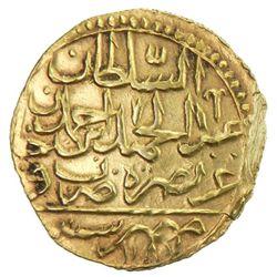 EGYPT: Abdul Hamid I, 1774-1789, AV zeri mahbub (2.54g), Misr, AH[119]7
