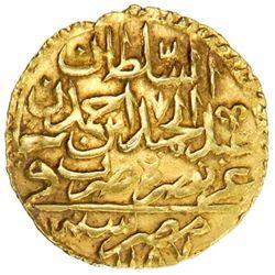 EGYPT: Abdul Hamid I, 1774-1789, AV zeri mahbub (2.55g), Misr, AH[119]2