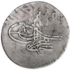 IRAN: Ahmad III, 1703-1730, AR 2 shahi (3.15g), Tabriz, AH1115