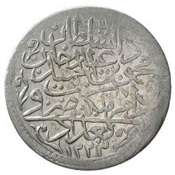 IRAQ: Mahmud II, 1808-1839, AR 30 para (4.59g), Baghdad, AH1223 year 15