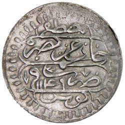 TUNIS: Mahmud I, 1730-1754, AR 1/4 piastre, Tunis, AH1149