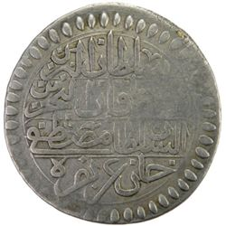 TUNIS: Mustafa III, 1757-1774, AR piastre, Tunis, AH1186