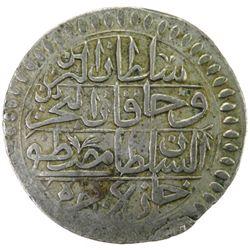 TUNIS: Mustafa III, 1757-1774, AR piastre, Tunis, AH1187