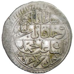 TUNIS: Abdul Hamid I, 1774-1787, AR 8 kharub, Tunis, AH1193