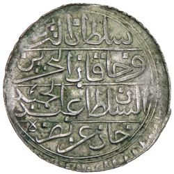 TUNIS: Abdul Hamid I, 1774-1787, AR piastre, Tunis, AH1192