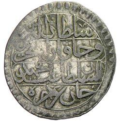 TUNIS: Abdul Hamid I, 1774-1787, AR piastre, Tunis, AH1188