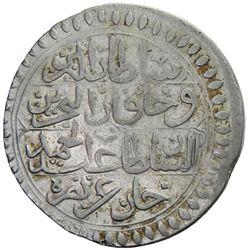 TUNIS: Abdul Hamid I, 1774-1787, AR piastre, Tunis, AH1200