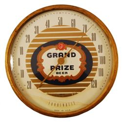 Grand Prize Beer Advertising Thermometer