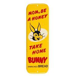 Bunny Bread Advertising Door Push