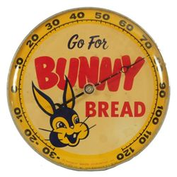 Bunny Bread Advertising Thermometer