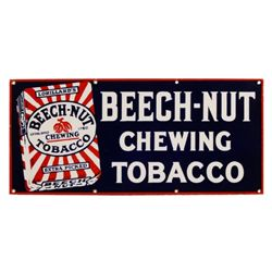 Beech-Nut Chewing Tobacco Porcelain Sign