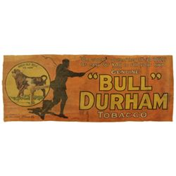 Bull Durham Tobacco Advertising Banner