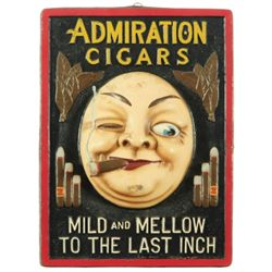 Admiration Cigars Advertising Sign