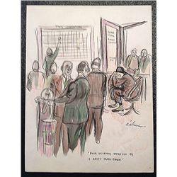 Cartoon: D'Alessio, Theresa Hilda, (1914-2006)