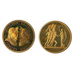 Bicentennial Independence Medallion, 1976 Bronze Proof.