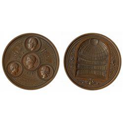 New Coal Exchange Medallion, ca. 1849.