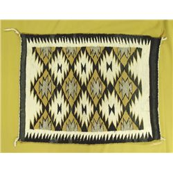 1950s Navajo Serrated Diamond Rug