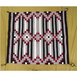 Navajo Revival Chief's Design Blanket Rug