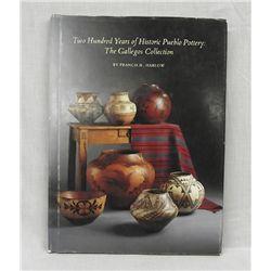 Hardback Book on Pueblo Pottery by F. Harlow