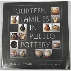 Softback Book on Families in Pueblo Pottery