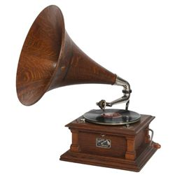 Victor Type-V Oak Phonograph