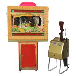 Seeburg Shoot The Bear Arcade Game