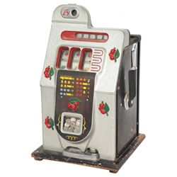 Mills Black Cherry 25 Cent Slot Machine