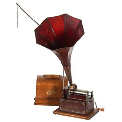 Edison Model D Red Gem Phonograph