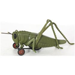 Hubley Cast Iron Grasshopper Pull Toy