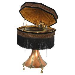 Burns & Pollack Lampophone Phonograph