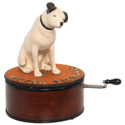 Victor Nipper Dog Store Display Automaton
