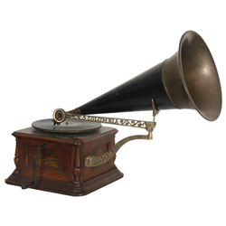 Oak Columbia Disc Graphophone