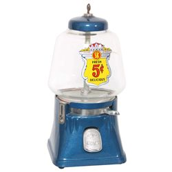 Silver King 5 Cent Gumball Machine