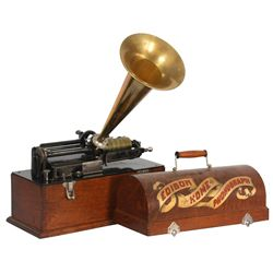 Edison Suitcase Home Model Phonograph