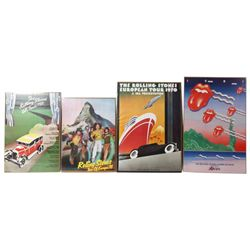 4 Pcs. Rolling Stones Tour Posters