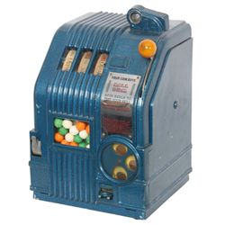 Daval Mfg. Ex-Ray 1 Cent Slot Machine