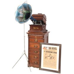 Columbia Type AD Home Grand Graphophone