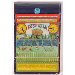 Hustler Intercollegiate Football Tin Litho Game