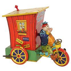 Humphrey Mobile Tin Litho Mechanical Toy
