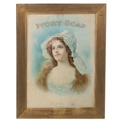 Vintage Ivory Soap Poster By W.H. McEntee