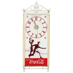 Coca-Cola Advertising Bowling Clock